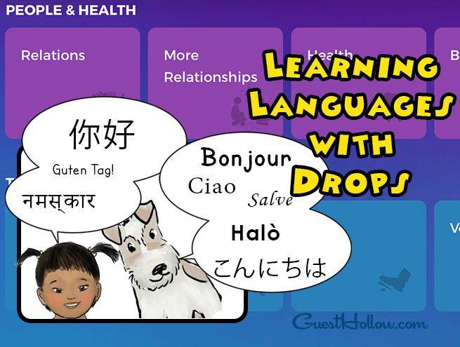 Drops Language Learning App